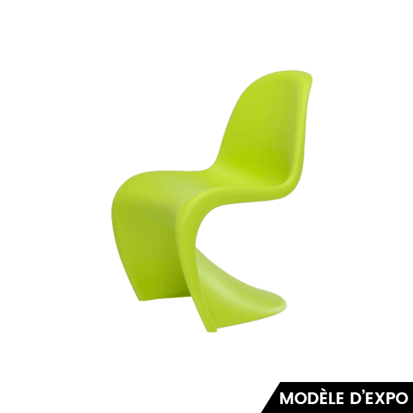 chaise panton junior vert clair v panton vitra pas cher grandes marques en promo sur zeeloft. Black Bedroom Furniture Sets. Home Design Ideas