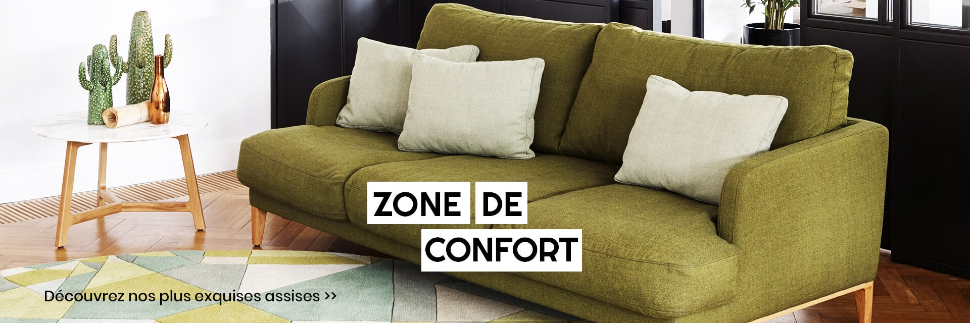 zone de confort home page zeeloft