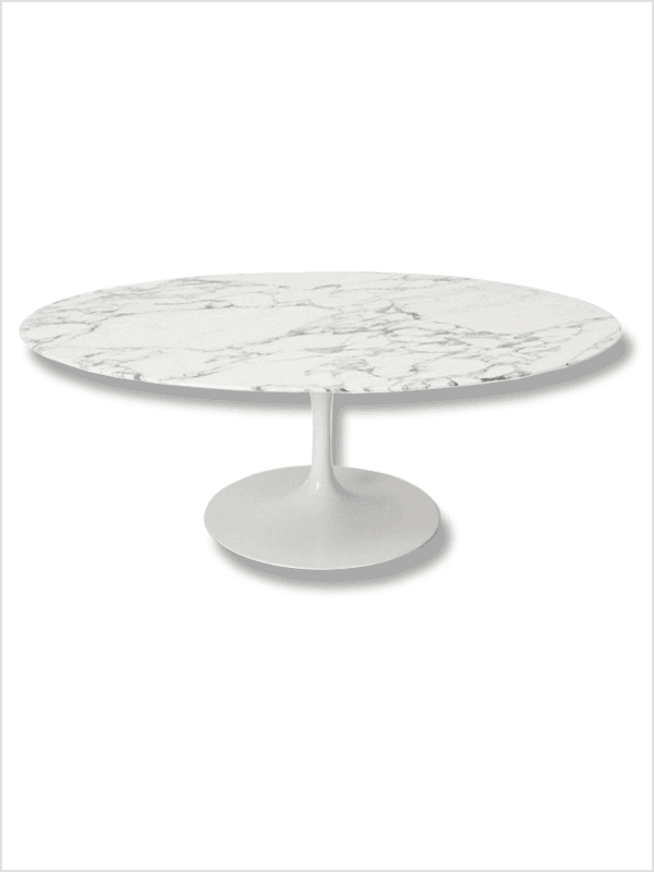 Table basse tulip e saarinen knoll pas cher grandes marques en promo sur zeeloft Table basse saarinen