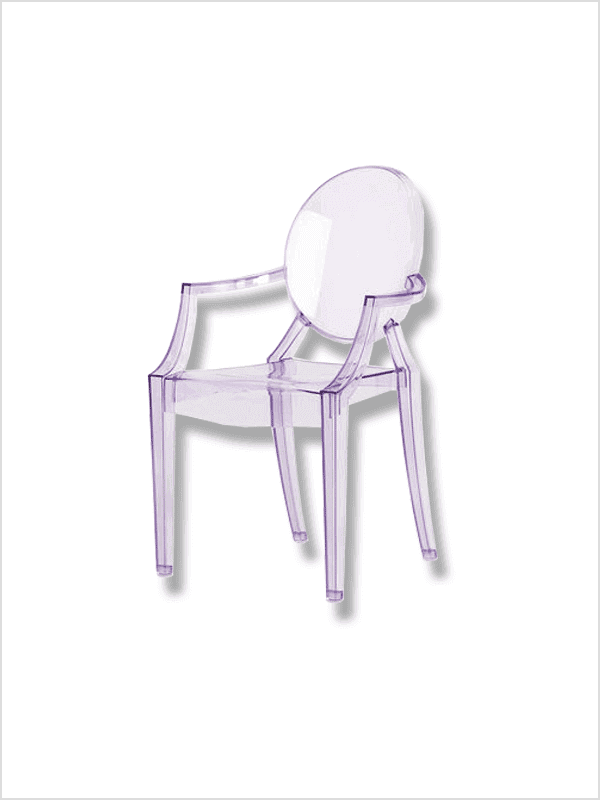 fauteuil lou lou ghost p starck kartell en offre sp ciale sur zeeloft. Black Bedroom Furniture Sets. Home Design Ideas
