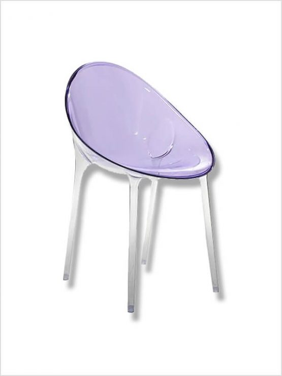 Fauteuil mr impossible p starck violet kartell d 39 occasion zeeloft - Fauteuil kartell occasion ...