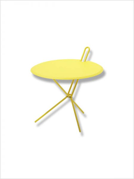 table d'appoint hook richard lampert jaune zeeloft