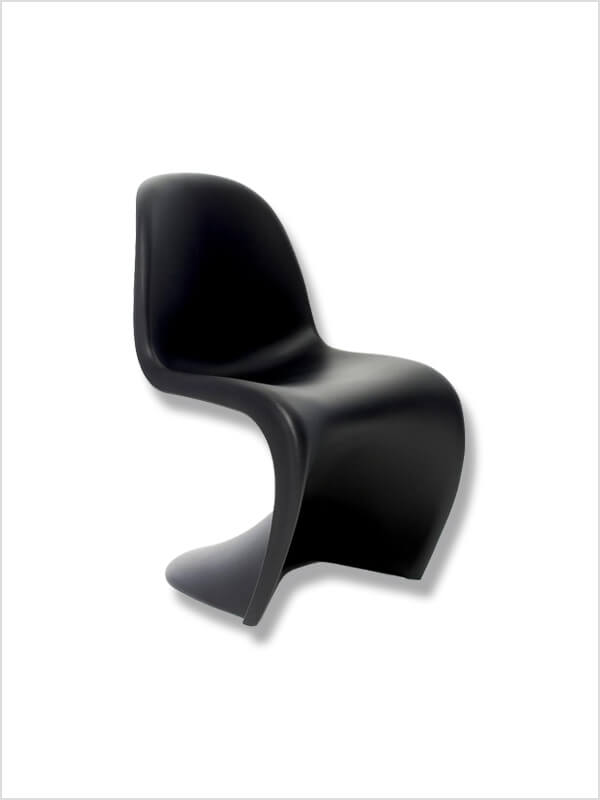 chaise verner panton trendy relaxer rocking chair by. Black Bedroom Furniture Sets. Home Design Ideas