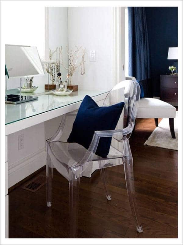 fauteuil louis ghost cristal p starck kartell d. Black Bedroom Furniture Sets. Home Design Ideas