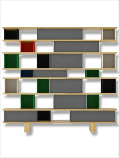 Biblioth que wall system poliform d 39 occasion zeeloft - Bibliotheque perriand ...