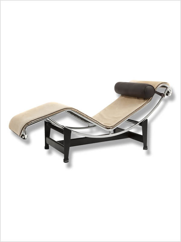 Chaise longue lc4 le corbusier cassina d 39 occasion for Chaise du corbusier