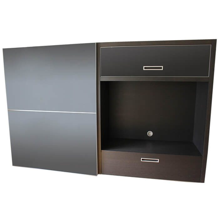 meuble tv cineline cinna pas cher grandes marques en promo sur zeeloft. Black Bedroom Furniture Sets. Home Design Ideas