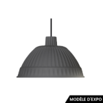 suspension cloche fontana arte gris zeeloft