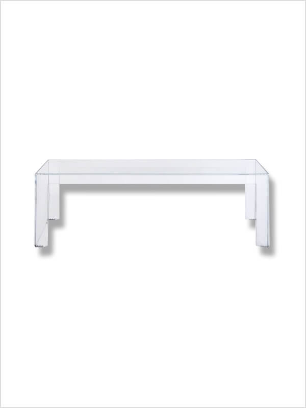 Table basse invisible kartell d 39 occasion zeeloft for Table basse kartell