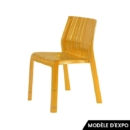 chaise frilly kartell urquiola orange zeeloft