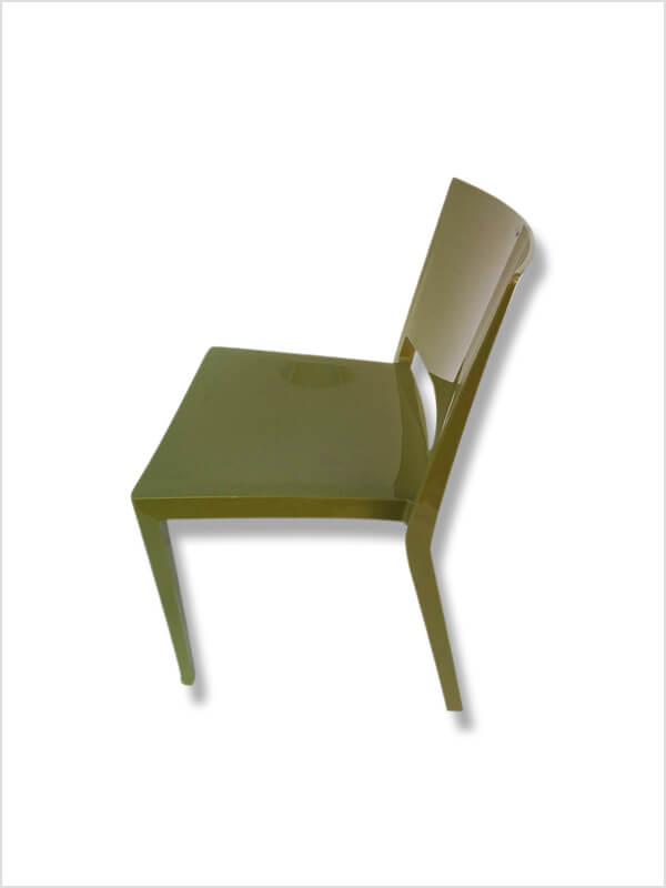 chaise lizz p lissoni vert kartell d 39 occasion zeeloft. Black Bedroom Furniture Sets. Home Design Ideas
