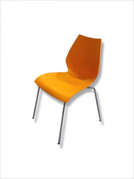 chaise maui kartell orange zeeloft