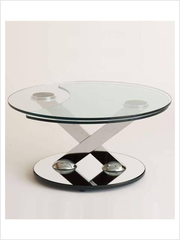 table basse ricochet roche bobois transparent zeeloft