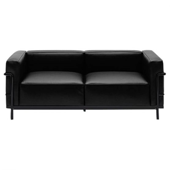 canap lc3 le corbusier cassina en offre sp ciale sur zeeloft. Black Bedroom Furniture Sets. Home Design Ideas
