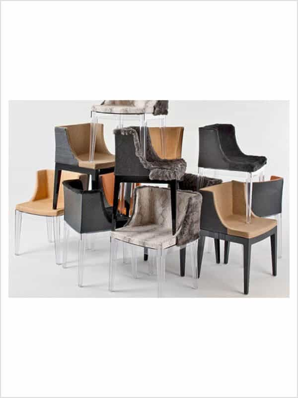 fauteuil mademoiselle kravitz p starck kartell d 39 occasion zeeloft. Black Bedroom Furniture Sets. Home Design Ideas
