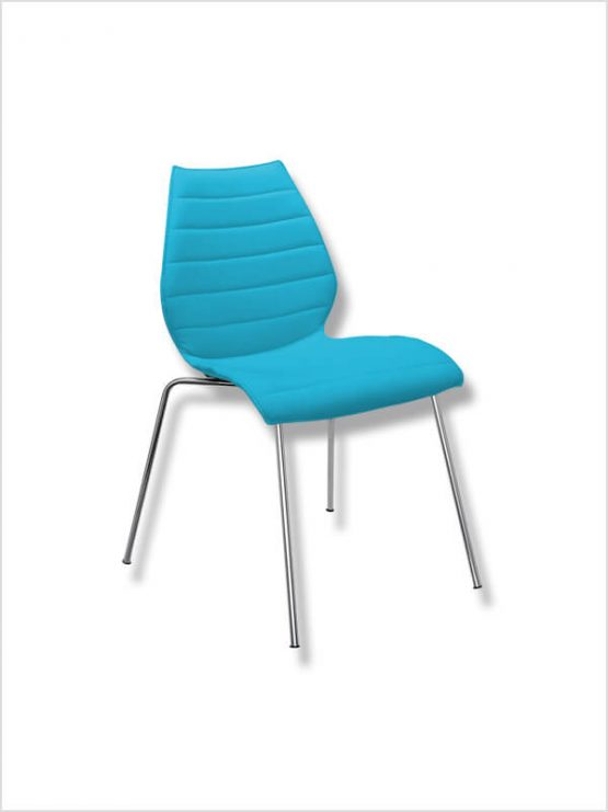 Chaise maui soft bleu turquoise kartell d 39 occasion zeeloft - Chaises kartell occasion ...