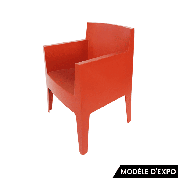 fauteuil toy driade orange zeeloft