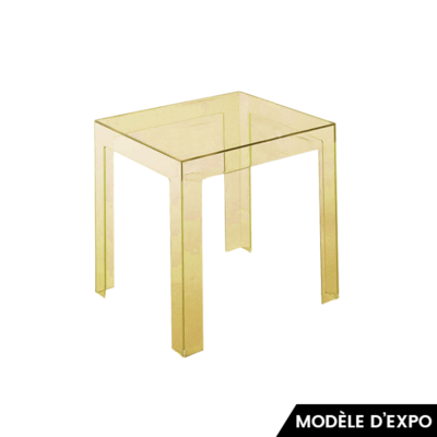 table d'appoint jolly kartell jaune zeeloft