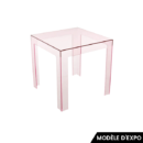 table d'appoint jolly kartell rose zeeloft