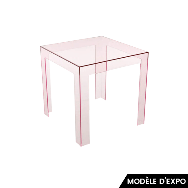 table d 39 appoint jolly kartell pas cher grandes marques. Black Bedroom Furniture Sets. Home Design Ideas