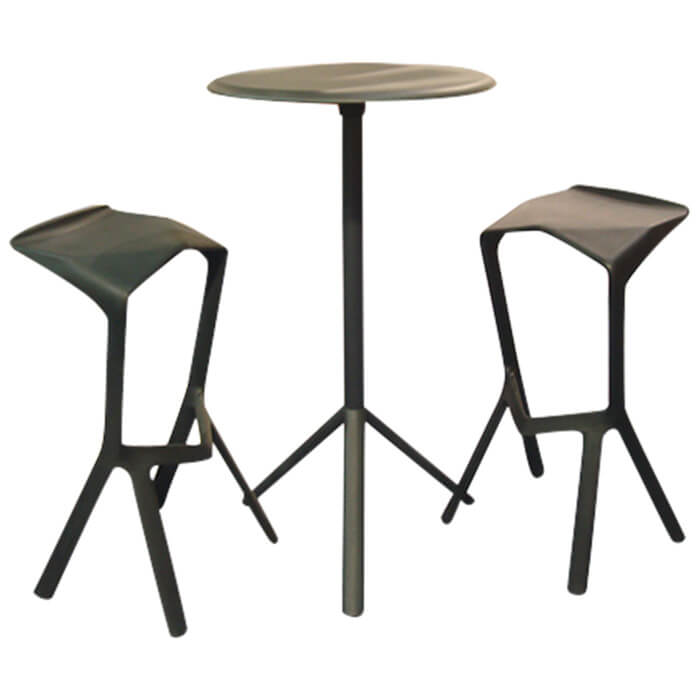 mange debout miura tabouret de bar miura lot de 2 plank en offre sp ciale sur zeeloft. Black Bedroom Furniture Sets. Home Design Ideas
