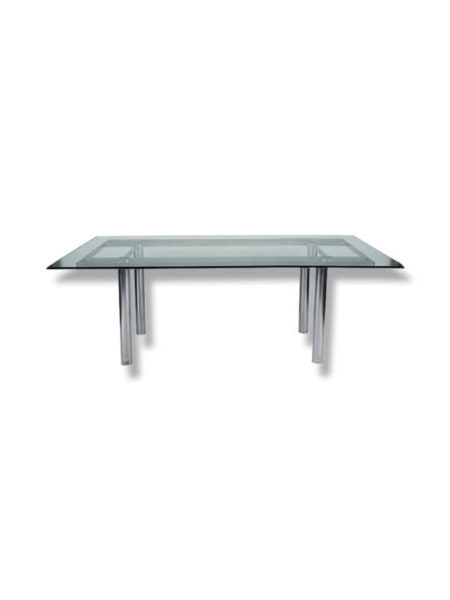 table andre knoll Scarpa transparent zeeloft