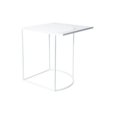 table d'appoint iso-b petite friture blanc zeeloft