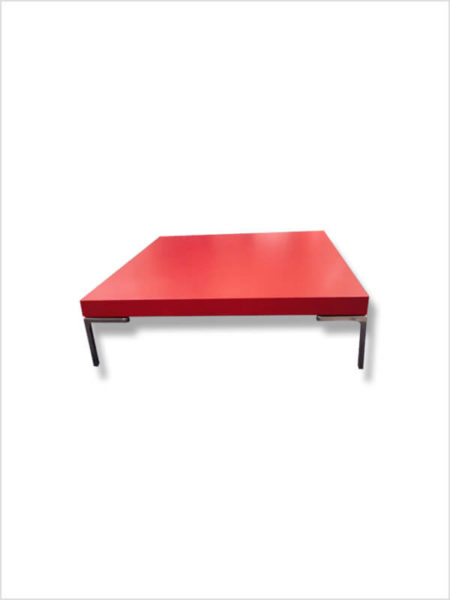 table basse charles b&b Italia rouge zeeloft
