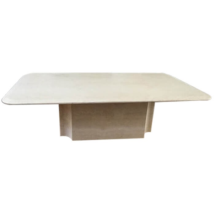 Table basse Travertin - Ligne Roset pas cher | Grandes marques en ...
