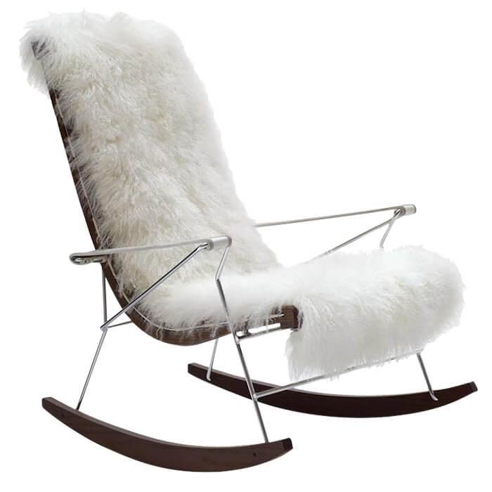 fauteuil jj rocking chair a citterio b b italia pas. Black Bedroom Furniture Sets. Home Design Ideas
