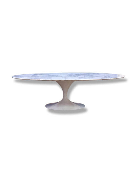 Table knoll ovale d occasion maison design for Table knoll ovale marbre blanc