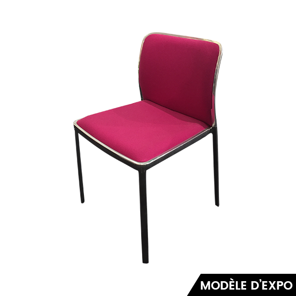 chaise audrey soft kartell pas cher grandes marques en promo sur zeeloft. Black Bedroom Furniture Sets. Home Design Ideas