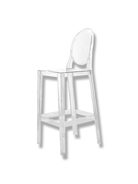 Chaise de bar one more kartell d 39 occasion zeeloft - Chaise de bar d occasion ...