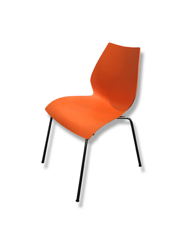 chaise maui orange polypropyl ne kartell d 39 occasion zeeloft. Black Bedroom Furniture Sets. Home Design Ideas