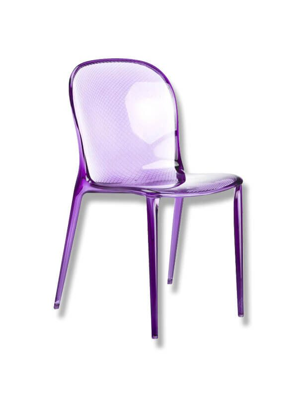 chaise thalya violet kartell d 39 occasion zeeloft. Black Bedroom Furniture Sets. Home Design Ideas