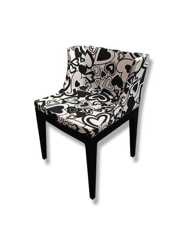 fauteuil mademoiselle moschino p starck kartell d 39 occasion zeeloft. Black Bedroom Furniture Sets. Home Design Ideas