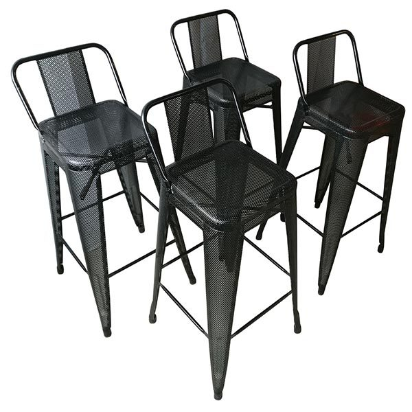 tabouret hpd 75 lot de 4 tolix pas cher grandes. Black Bedroom Furniture Sets. Home Design Ideas