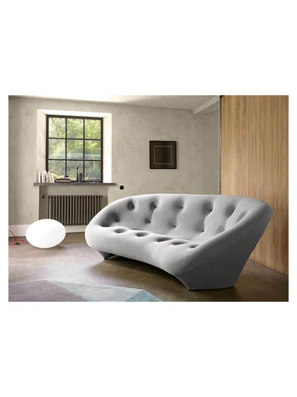 canap ploum marron r e bouroullec ligne roset en offre sp ciale sur zeeloft. Black Bedroom Furniture Sets. Home Design Ideas