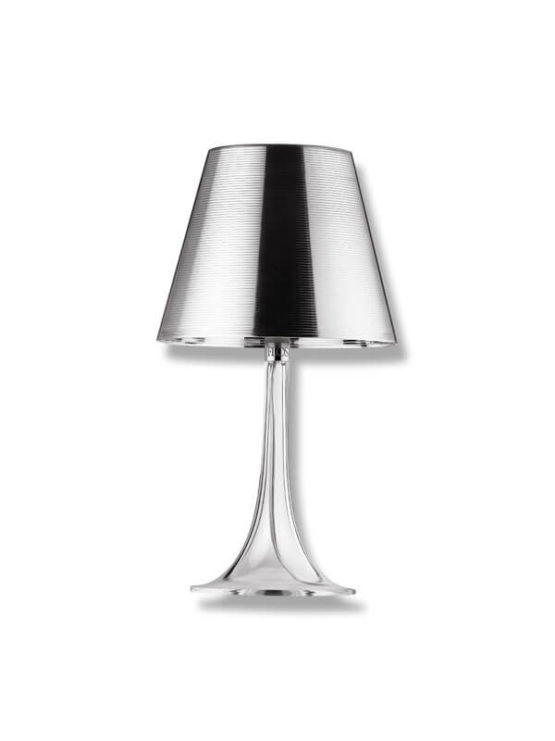 lampe miss k p starck argent flos d 39 occasion zeeloft. Black Bedroom Furniture Sets. Home Design Ideas