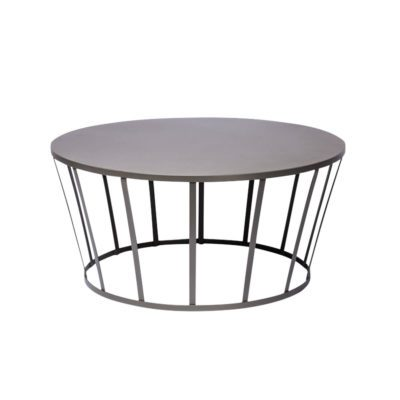 table basse hollo petite friture gris anthracite zeeloft