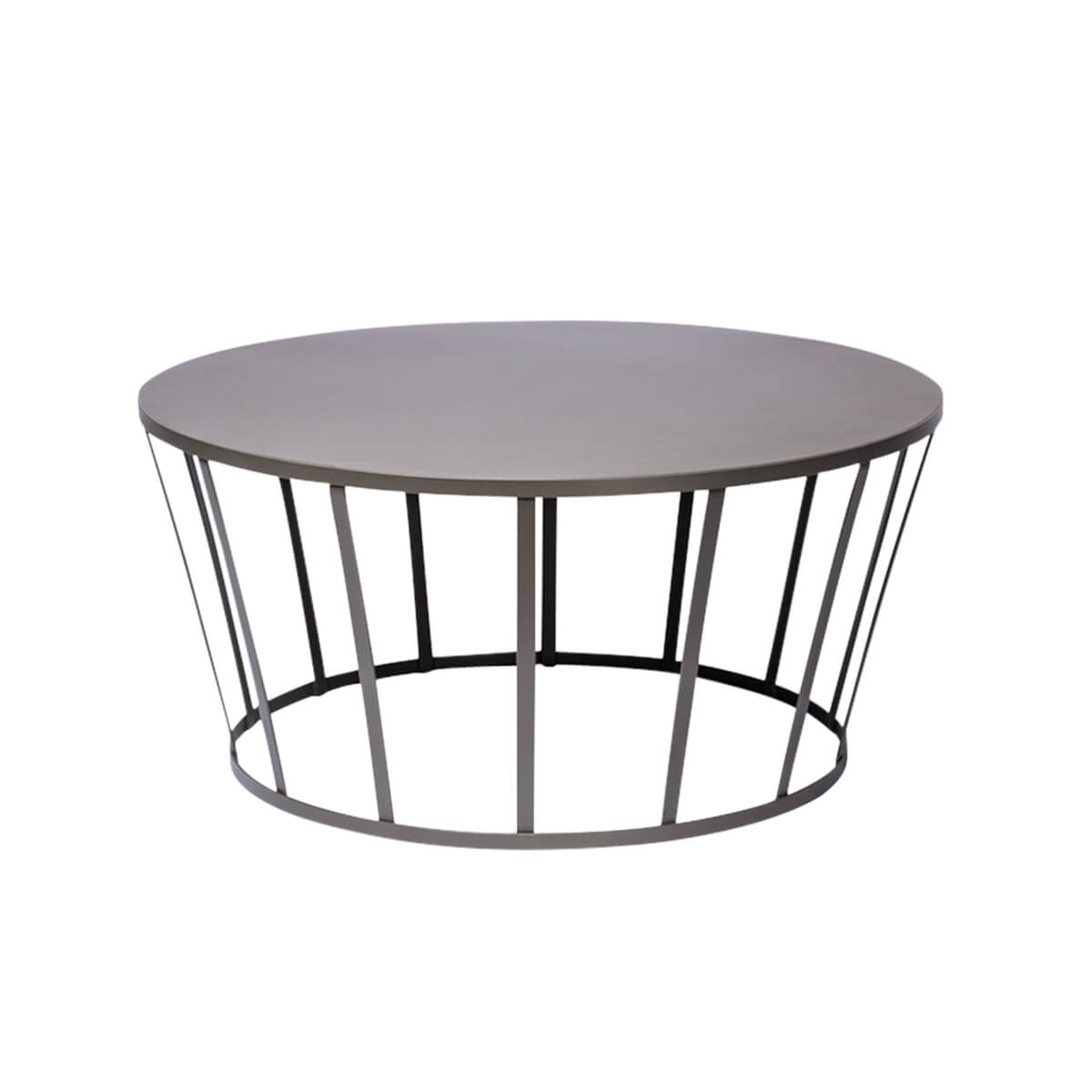 Table basse hollo gris petite friture pas cher grandes - Table basse gris anthracite ...