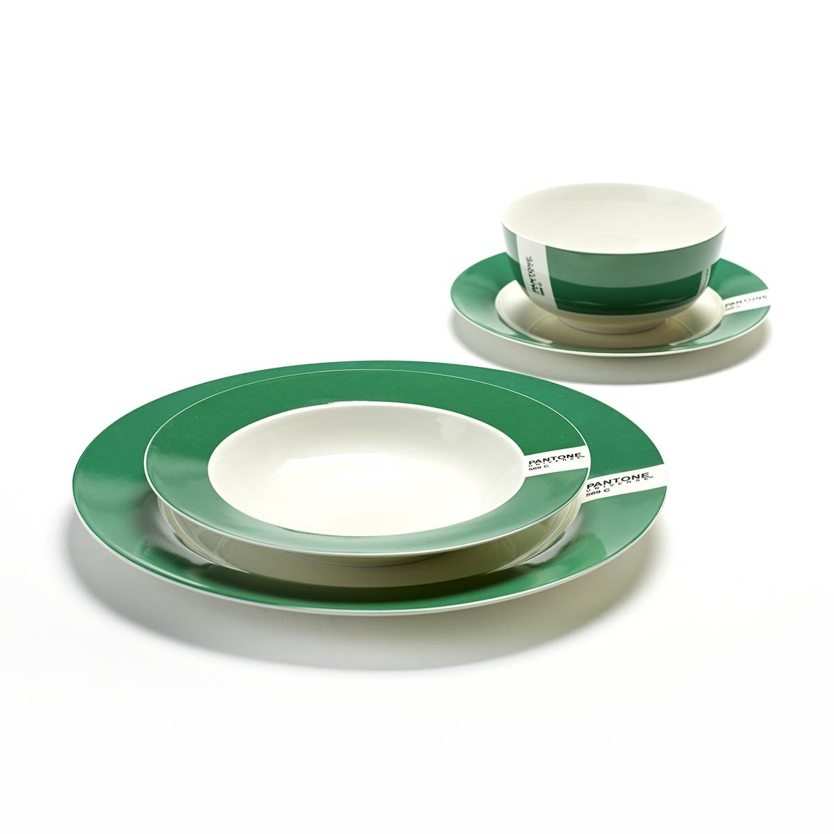 assiette pantone vert fonc serax en offre sp ciale sur zeeloft. Black Bedroom Furniture Sets. Home Design Ideas