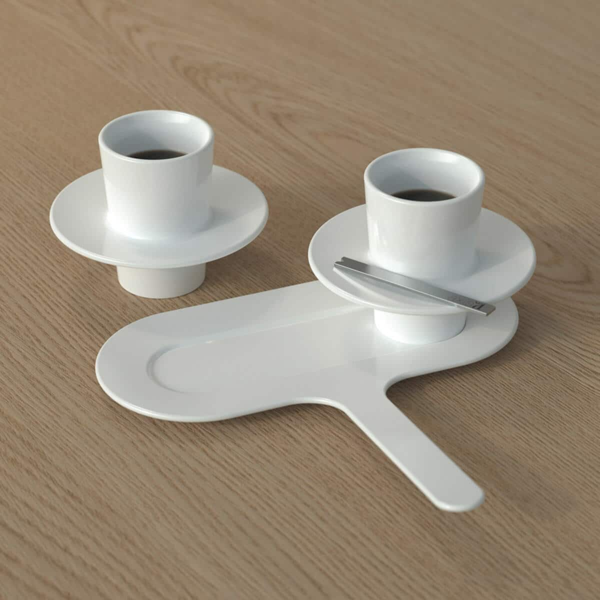 coffee set axis71 blanc zeeloft