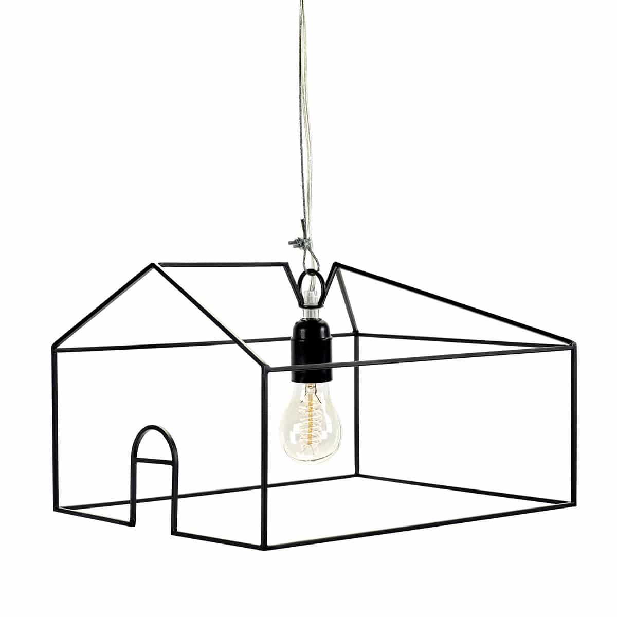suspension city led kiosque serax noir zeeloft
