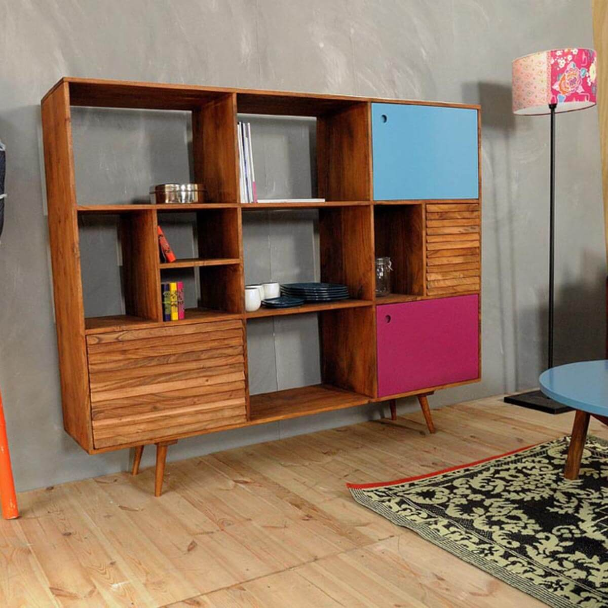 meuble oslo rose baobab pas cher grandes marques en promo sur zeeloft. Black Bedroom Furniture Sets. Home Design Ideas