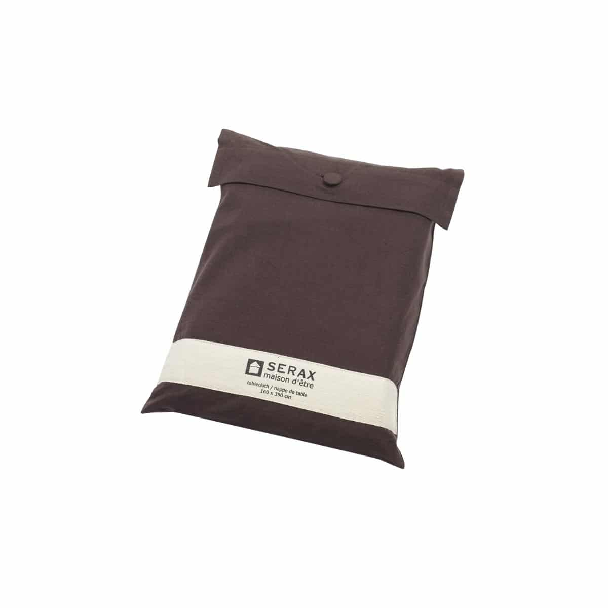 nappe de table stylish brown serax marron zeeloft