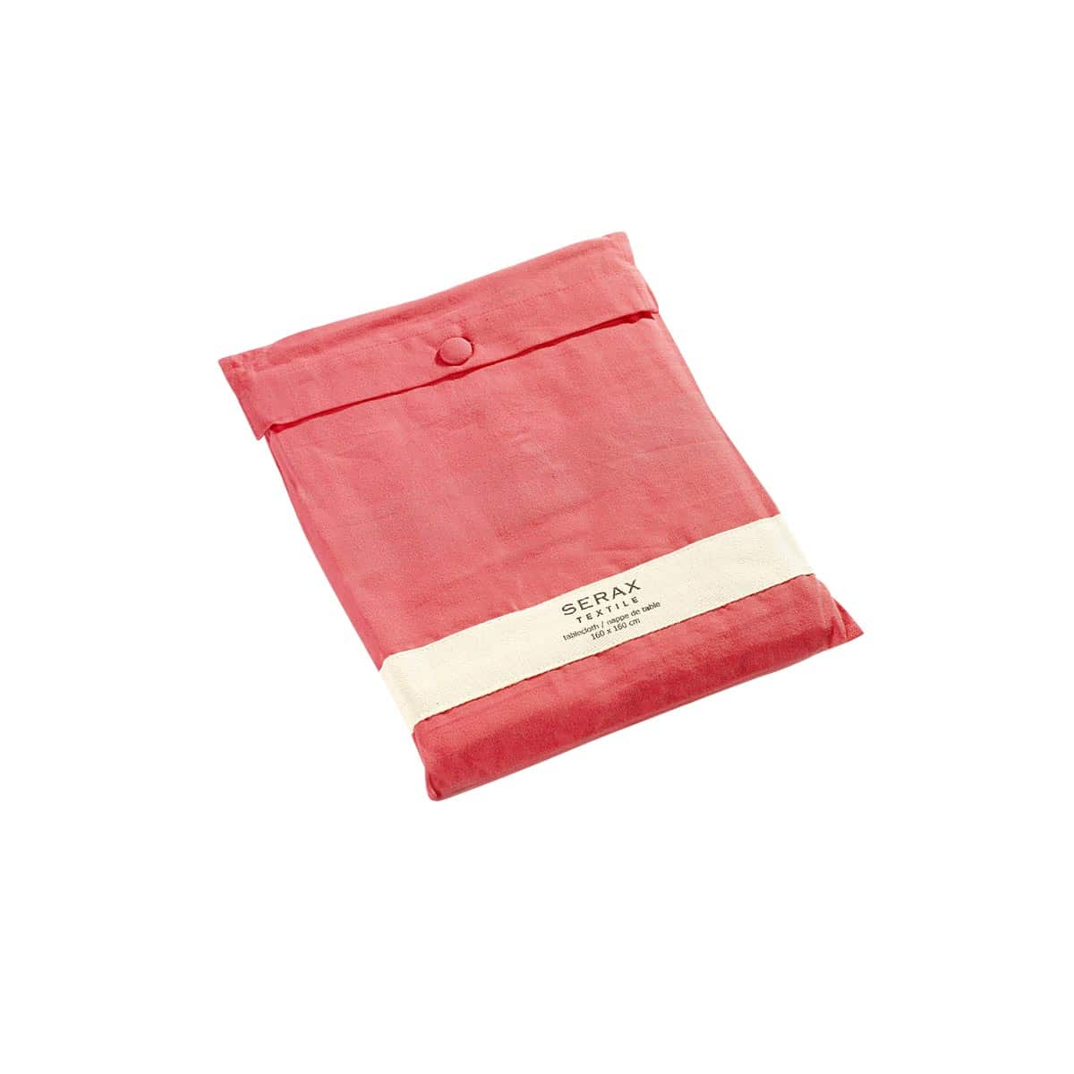 nappe de table sweet cherry serax rose rouge zeeloft