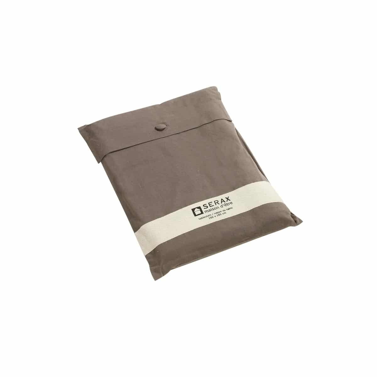 nappe de table gentle taupe serax taupe zeeloft
