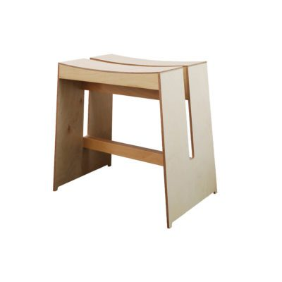 tabouret swing axis71 bois naturel zeeloft