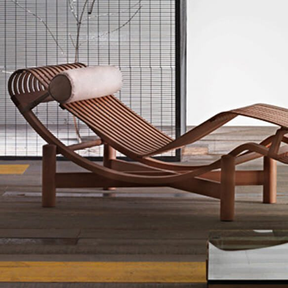 chaise longue tokyo perriand cassina